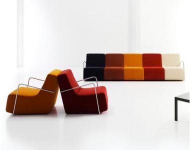 Мягкая мебель для зон ожидания Sancal Club